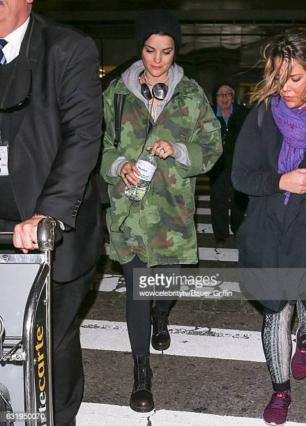 Jaimie Alexander is seen on January 17 2017 in Los Angeles California