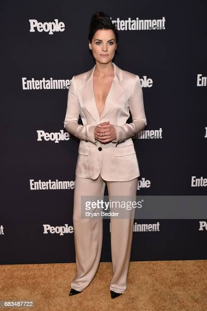 Jaimie Alexander of Blindspot attends the Entertainment Weekly and PEOPLE Upfronts party presented by Netflix and Terra Chips at Second Floor on May...