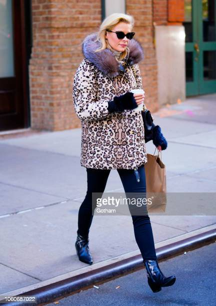 Jaimie King out and about on November 12 2018 in New York City