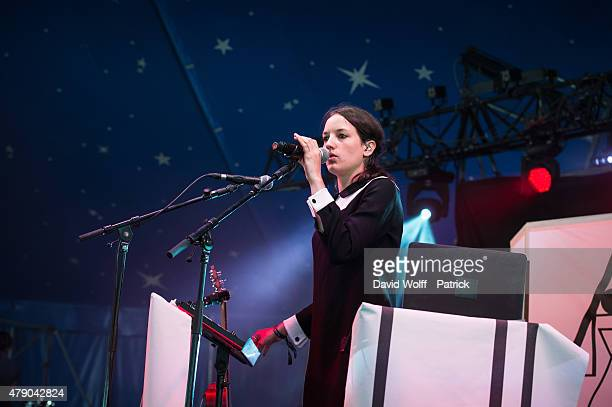 Jain performs at Solidays Festival on June 27 2015 in Paris France