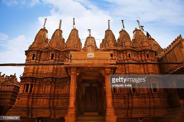 Jain Temple at Jaisalmer Fort, Jaisalmer, Rajasthan, India