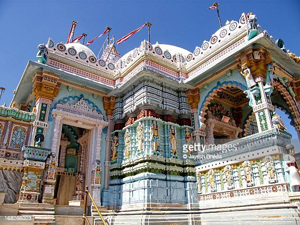 jain temple at village tera, abdasa, kutch,gujarat - jain temple stock photos and pictures