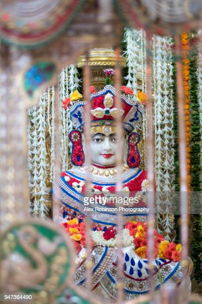 jain temple in mumbai - jain temple stock photos and pictures