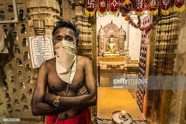 Jain temples complex in Jaisalmer Rajasthan India