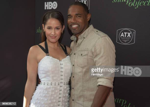 Jaina Lee Ortiz and Jason George attend the ATX Television Festival at The Paramount Theater on June 7 2018 in Austin Texas