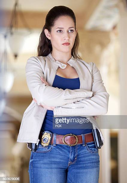 "Jaina Lee Ortiz as Detective Annalise Villa in the ""Have-Nots and Hematomas"" episode of ROSEWOOD airing Wednesday, Oct. 7 on FOX."