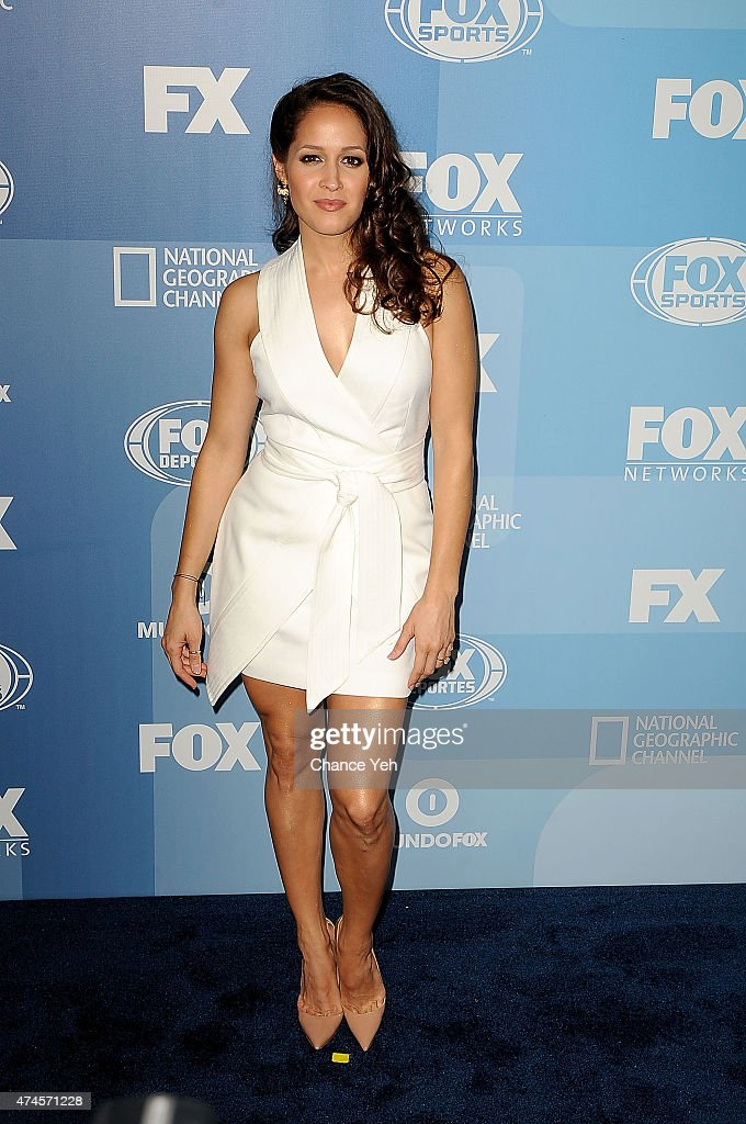 Jaina Lee Ortiz attends 2015 FOX Programming Presentation at Wollman Rink, Central Park on May 11, 2015 in New York City.