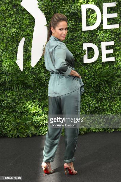 Jaina Lee Ortiz attends photocall for Station 19 during the 59th Monte Carlo TV Festival on June 15 2019 in MonteCarlo Monaco