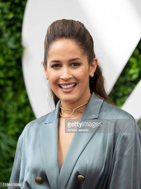 Jaina Lee Ortiz attends 'Station 19' photocall during the 59th Monte Carlo TV Festival : Day Two on June 15, 2019 in Monte-Carlo, Monaco.