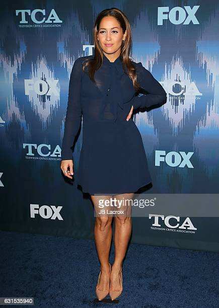 Jaina Lee Ortiz attends the 2017 Winter TCA Tour FOX AllStar Party on January 11 2017 in Pasadena California