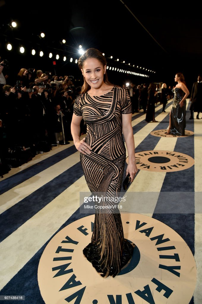 Jaina Lee Ortiz attends the 2018 Vanity Fair Oscar Party hosted by Radhika Jones at Wallis Annenberg Center for the Performing Arts on March 4, 2018 in Beverly Hills, California.