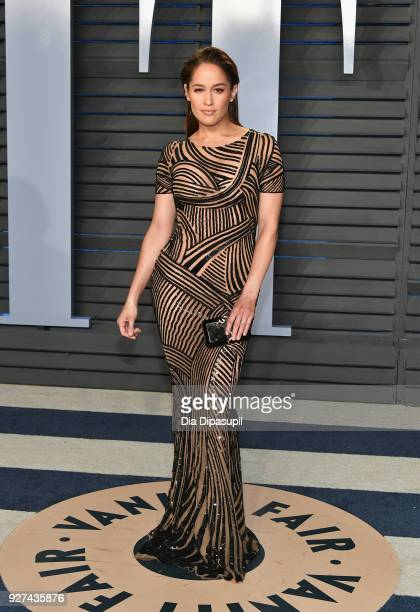 Jaina Lee Ortiz attends the 2018 Vanity Fair Oscar Party hosted by Radhika Jones at Wallis Annenberg Center for the Performing Arts on March 4 2018...