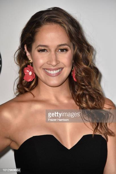 Jaina Lee Ortiz attends the Disney ABC Television TCA Summer Press Tour at The Beverly Hilton Hotel on August 7 2018 in Beverly Hills California