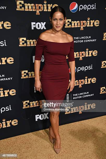 Jaina Lee Ortiz attends the 'Empire' Series Season 2 New York Premiere at Carnegie Hall on September 12 2015 in New York City