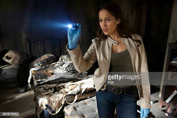 "Jaina Lee Ortiz in the ""Necrosis and New Beginnings"" episode of ROSEWOOD airing Wednesday, Oct. 21 on FOX."