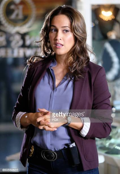 "Jaina Lee Ortiz in the ""White Matter & The Ways Back"" episode of ROSEWOOD airing Friday, Feb. 3 on FOX."