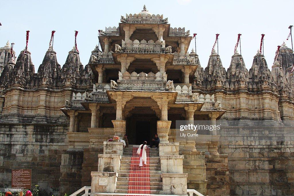Jains Temple, Rajasthan : Stock Photo