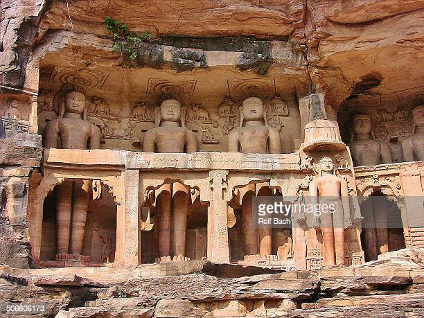 Jainskulpturen bei Gwalior