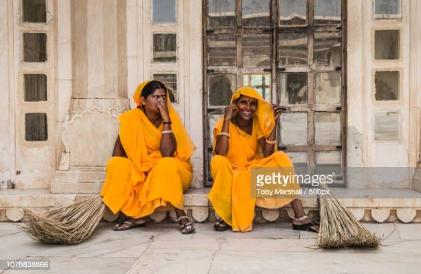 Jaipur Amber Fort cleaners