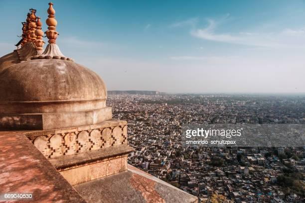 Jaipur city from Nahargarh Fort