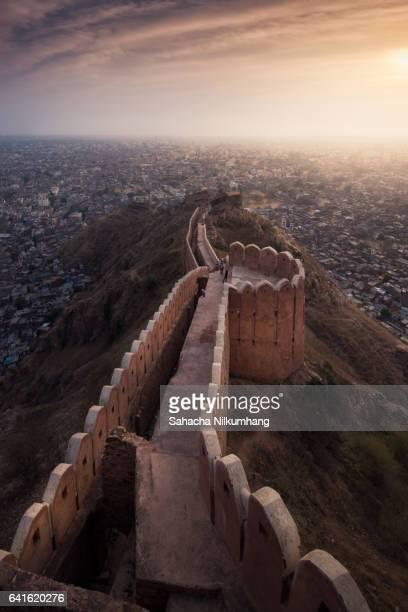 Jaipur city scape, India