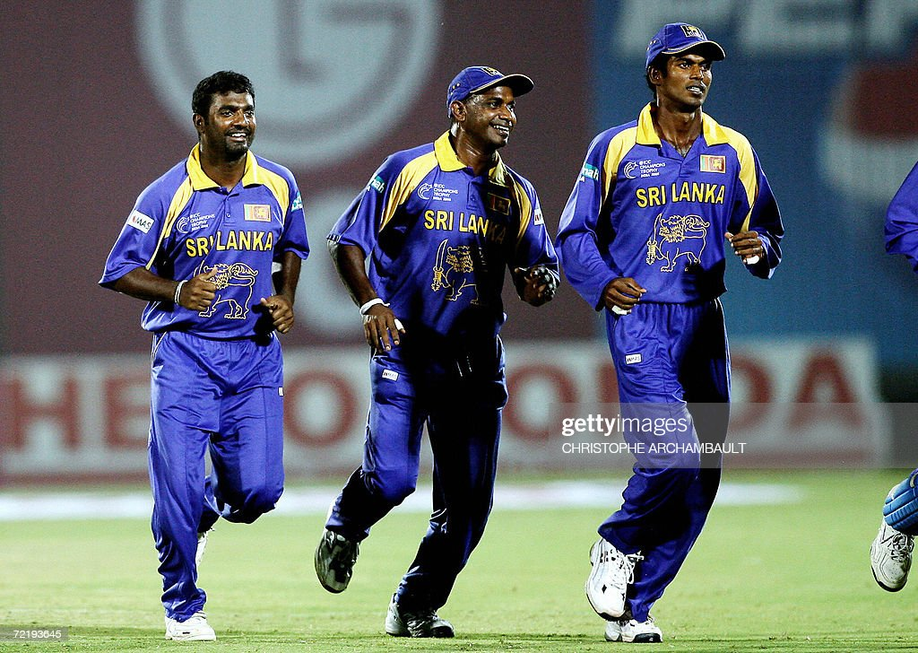 Sri Lankan cricketer Muttiah Muralithara : News Photo