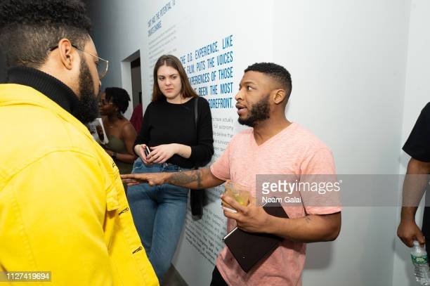 Jaiquan Fayson attends The OG Experience by HBO at Studio 525 on February 23 2019 in New York City