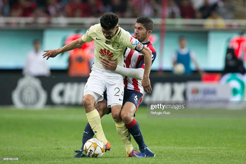 Chivas v America - Playoffs Torneo Apertura 2016 Liga MX : News Photo