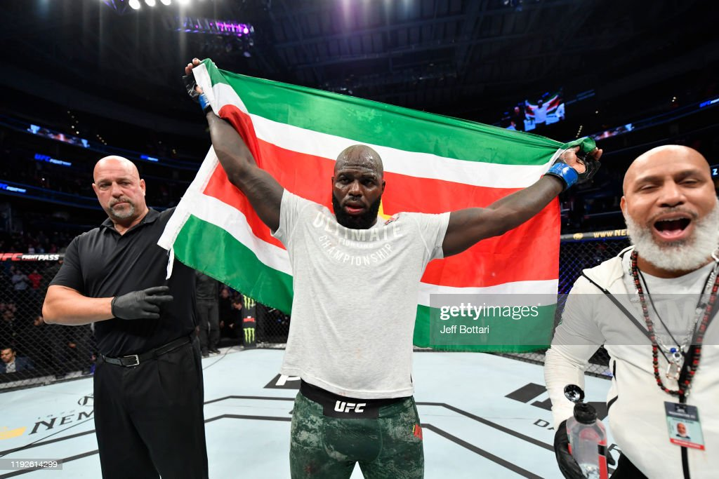 UFC Fight Night: Overeem v Rozenstruik : News Photo