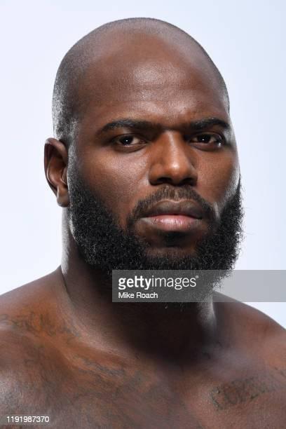 Jairzinho Rozenstruik of Suriname poses for a portrait during a UFC photo session on December 4 2019 in Washington DC