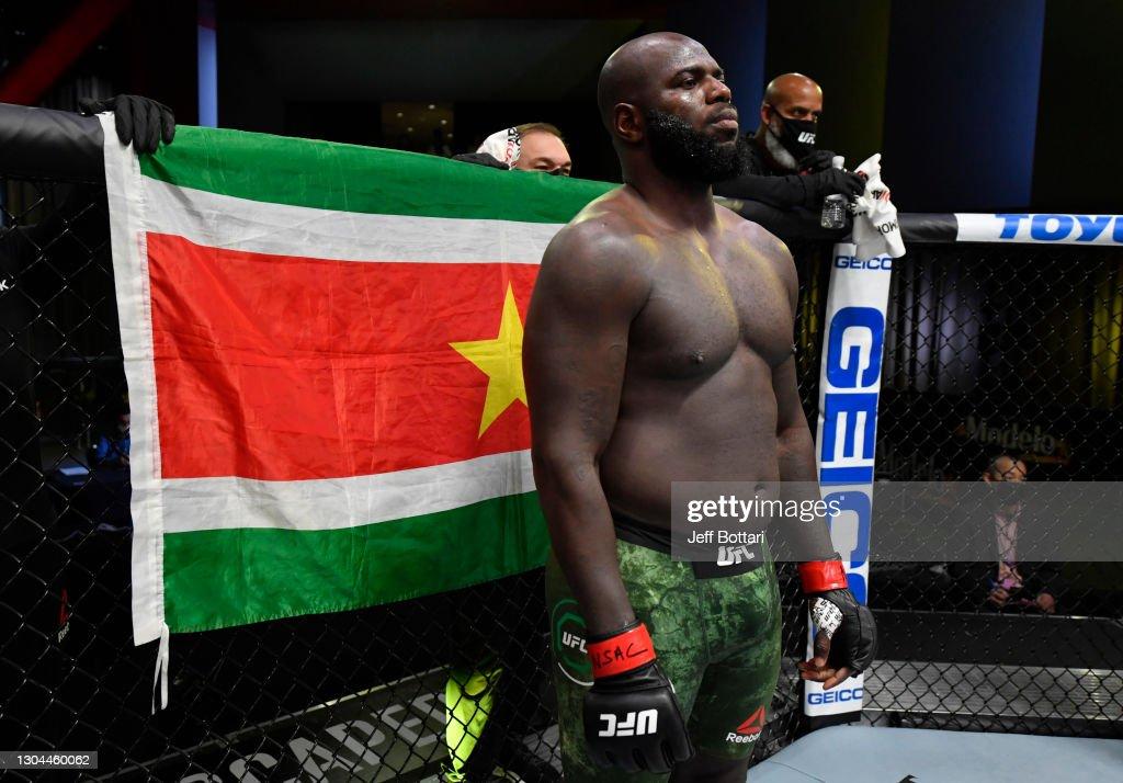 UFC Fight Night: Rozenstruik v Gane : News Photo