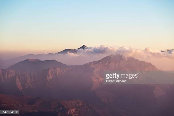 jais mountain range - ras al khaimah stock pictures, royalty-free photos & images