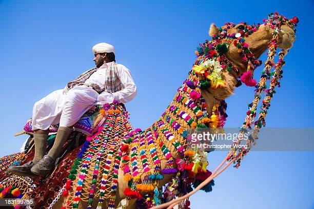 CONTENT] Jaisalmer Desert Festival Winner of camel decorating competition