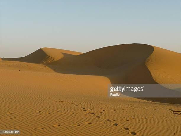 Jaisalmer desert sand dunes