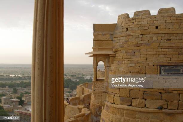 jaisalmer fort, jaisalmer, rajasthan, india - argenberg stock pictures, royalty-free photos & images