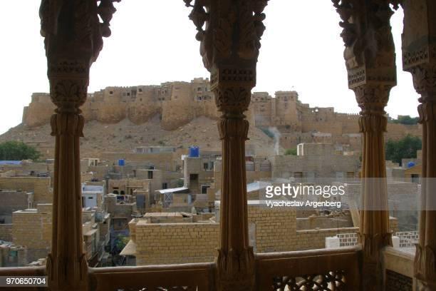 jaisalmer fort, jaisalmer, rajasthan, india - argenberg ストックフォトと画像
