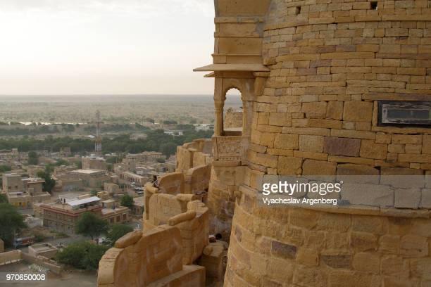 jaisalmer fort, thar desert, jaisalmer, rajasthan, india - argenberg stock pictures, royalty-free photos & images