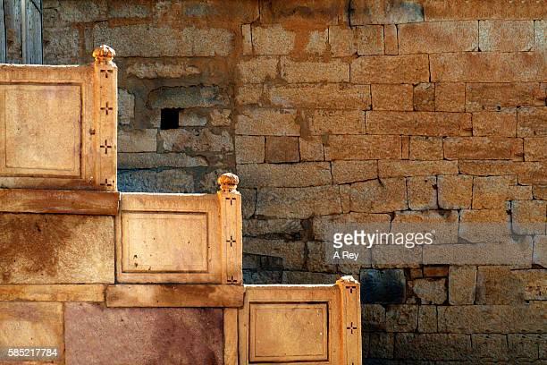 Jaisalmer sandstone wall