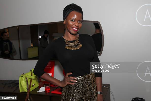 Jaja Nwokeabia attend Niki Shaokao Cheng's Annual Holiday Party at Calligaris SoHo on December 13 2017 in New York City