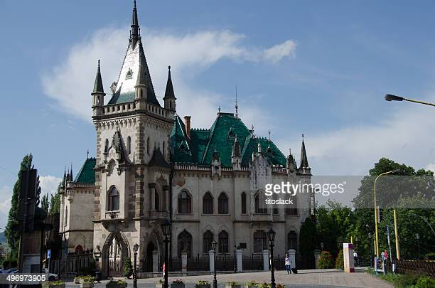 jakab's palace -  kosice, slovakia - kosice stock photos and pictures