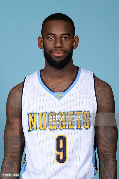 JaKarr Sampson of the Denver Nuggets pose for a head shot on March 11 2016 at the Pepsi Center in Denver Colorado NOTE TO USER User expressly...