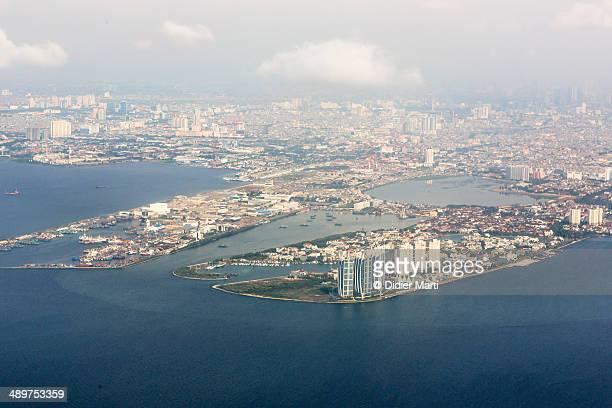 Jakarta aerial