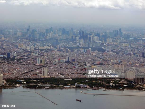 jakarta city - jakarta foto e immagini stock