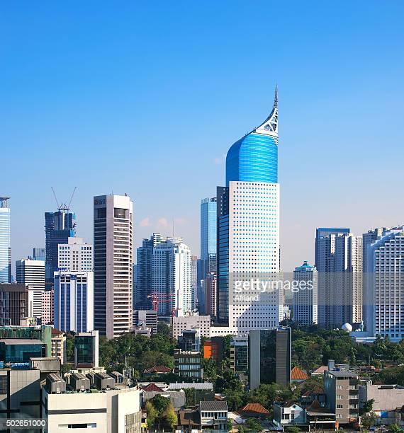 Jakarta cityscape, Indonesia
