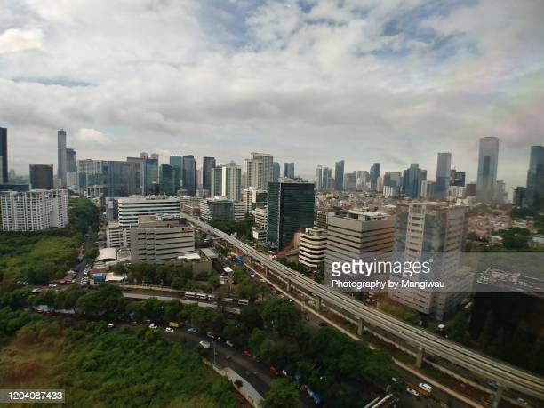 jakarta cityscape - bandung stock pictures, royalty-free photos & images