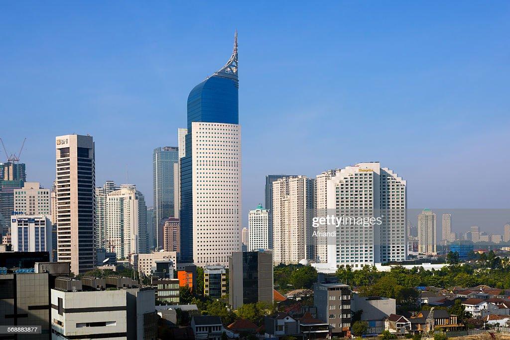 Jakarta Cityscape : Stock Photo