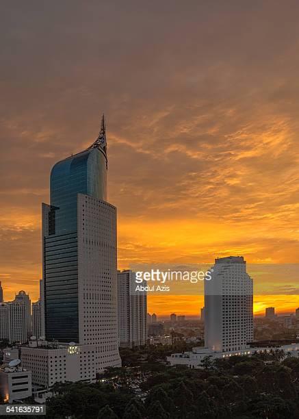 Jakarta Epic Sunset