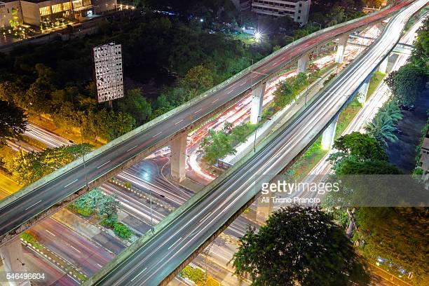 Jakarta FLy Over, Jakarta city, Indonesia.