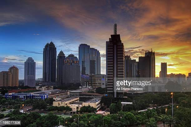 Jakarta in December