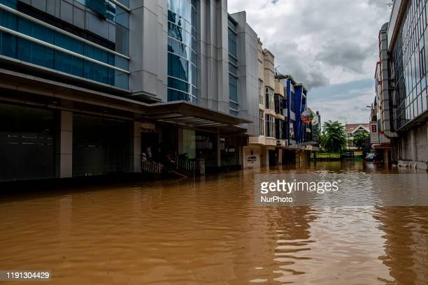 Jakarta, Indonesia, 02 January 2019 : Second day after heavy rain hit Jakarta and surrounding area, floods still covered several area, total arroun...